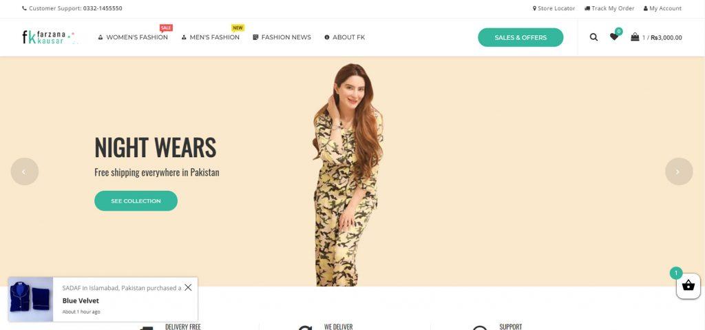 Website Developer in pakistan