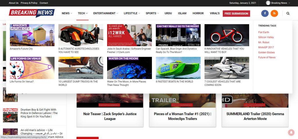 ecommerce website design pakistan